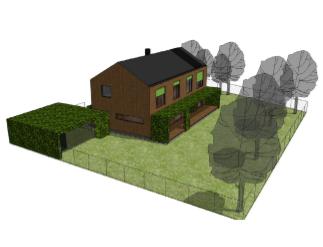 Tvarová složitost domu