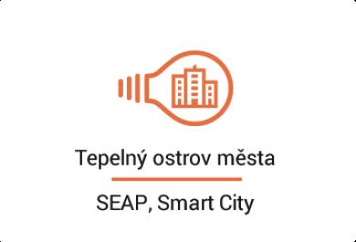 Tepelný ostrov města – SEAP, Smart City